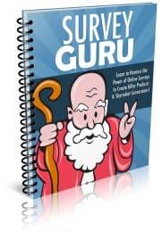 Survey Guru PLR Report eCover