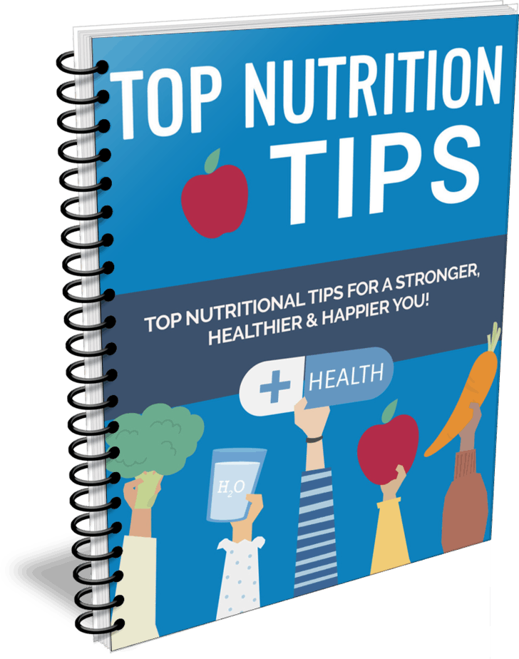 Top Nutrition Tips PLR Report eCover