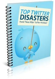 Top Twitter Disasters PLR Report eCover
