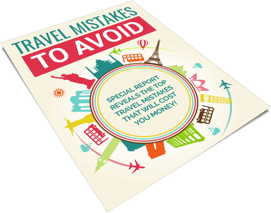 Travel Mistakes to Avoid PLR Report eCover