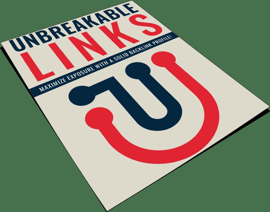 Unbreakable SEO Links PLR Report eCover