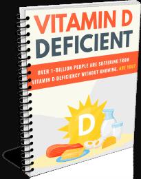 Vitamin D Deficient PLR Report eCover
