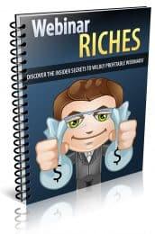 Webinar Riches PLR Report eCover