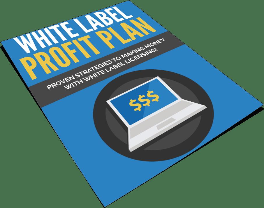 White Label Profit Plan PLR Report eCover