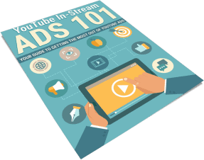 YouTube In Stream Ads 101 PLR Report eCover