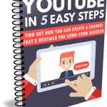 YouTube in 5 Steps PLR Lead Magnet Kit