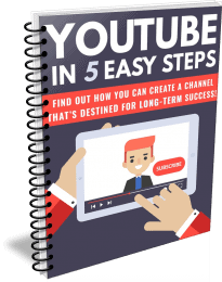 YouTube in 5 Steps PLR Report eCover