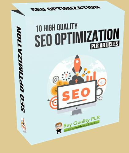 10 High Quality SEO Optimization PLR Articles