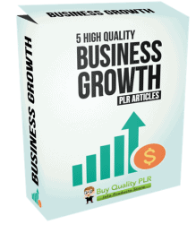 5 High Quality Business Growth PLR Articles
