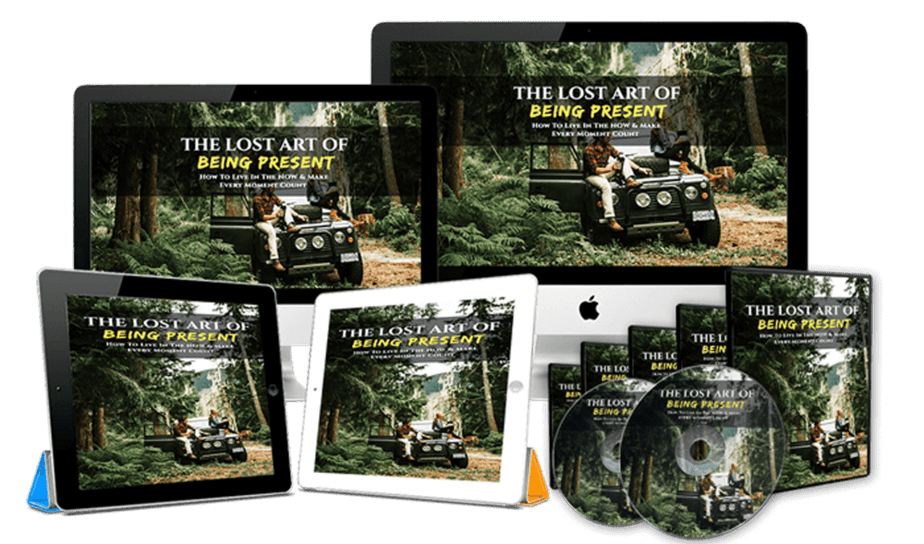 The Lost Art Of Being Present Upsell Bundle