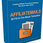 Affiliatemails High Converting Affiliate Business PLR Email Templates 20k Words
