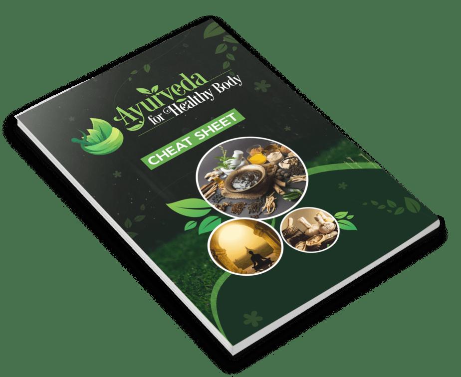 Ayurveda For Healthy Body PLR Cheat Sheet