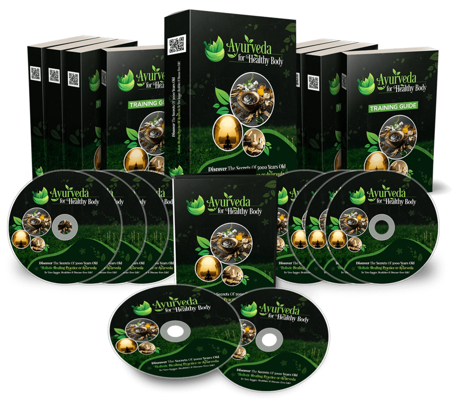 Ayurveda For Healthy Body PLR Complete Sales Funnel