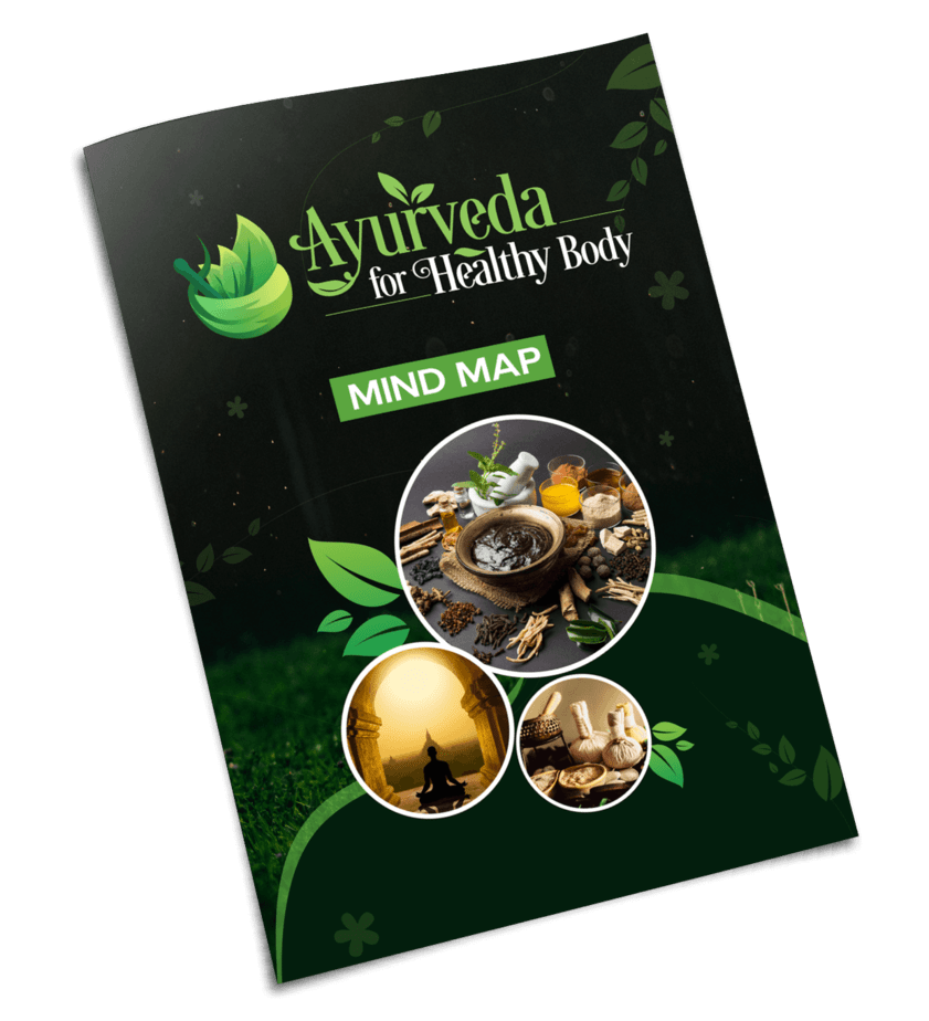 Ayurveda For Healthy Body PLR Mind Map