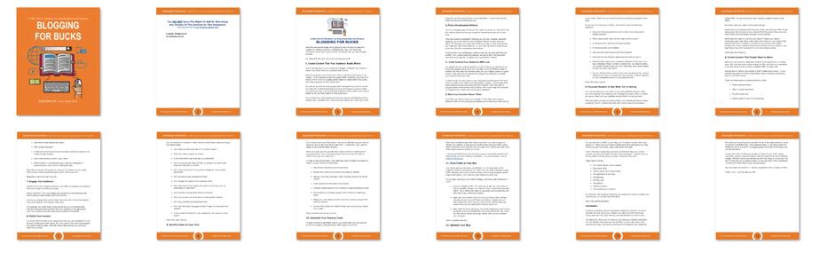 Blogcome Free Report Screenshot