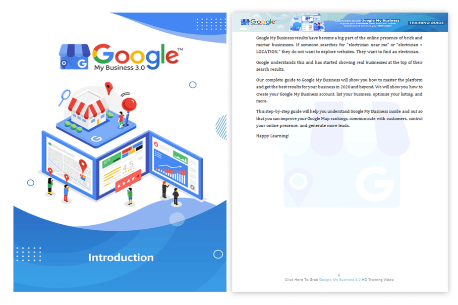 Google My Business 3.0 PLR Sales Funnel Training Guide