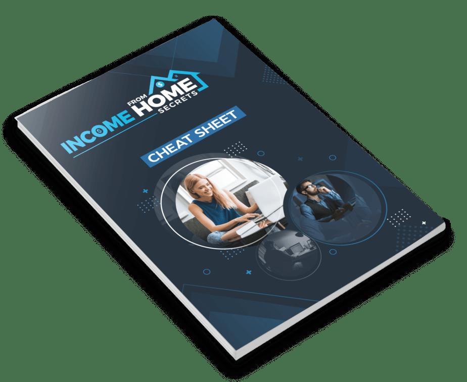 Income from Home Secrets PLR Sales Funnel Cheatsheet