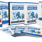 Lead Generation Ninja Sales Funnel with Master Resell Rights
