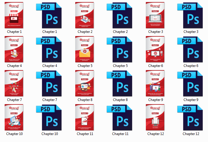Pinterest Profit Secrets PLR PDF Graphics