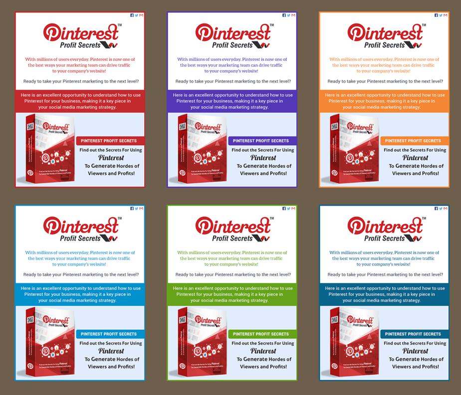 Pinterest Profit Secrets PLR Professional Minisite