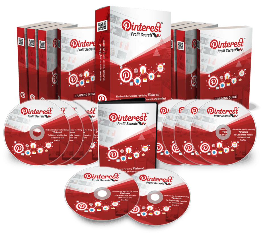 Pinterest Profit Secrets PLR Sales Funnel Upsell Graphics