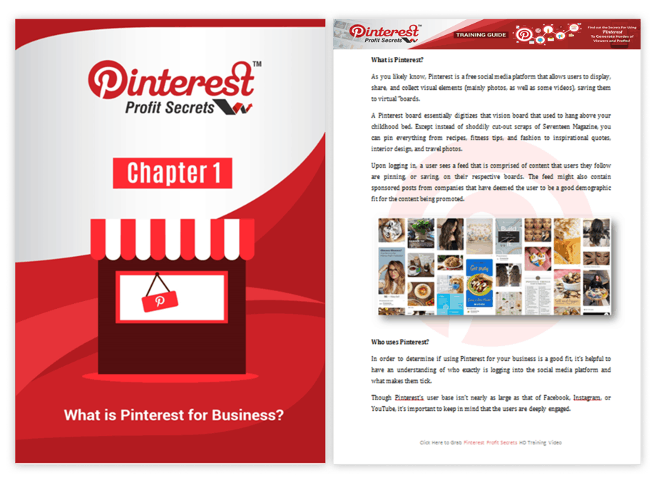 Pinterest Profit Secrets PLR Training Guide