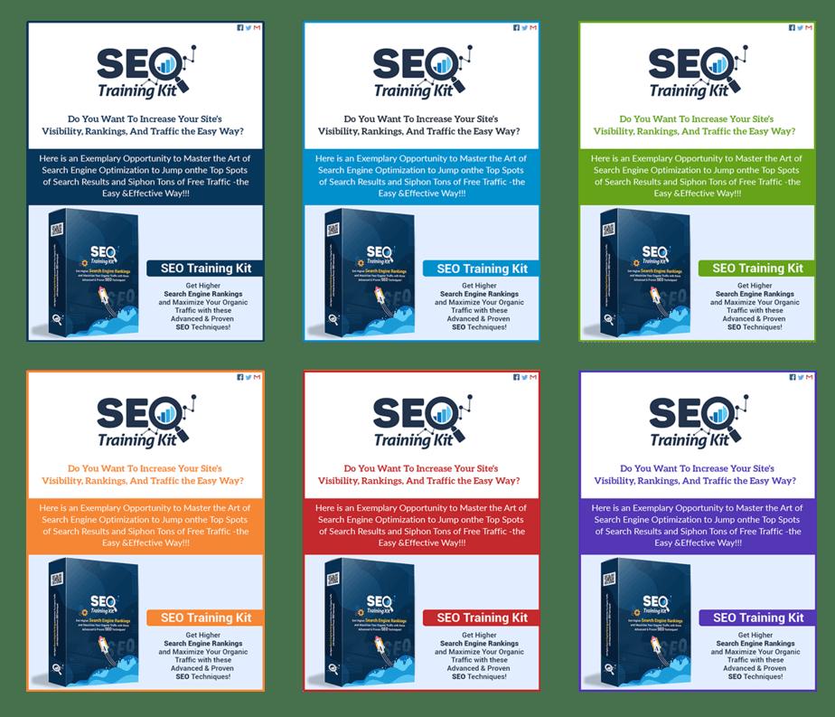 SEO Training Kit Professional Minisite