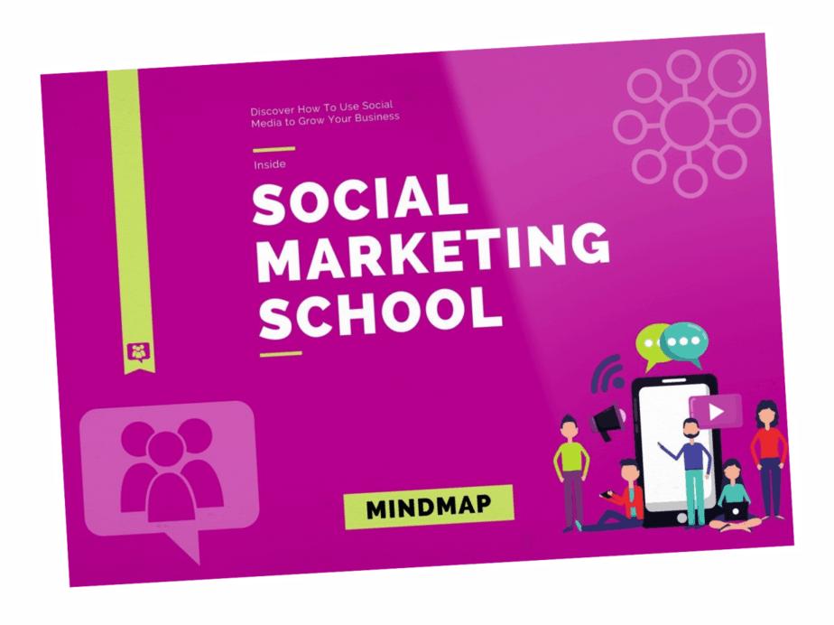 Social Marketing School Mind Map