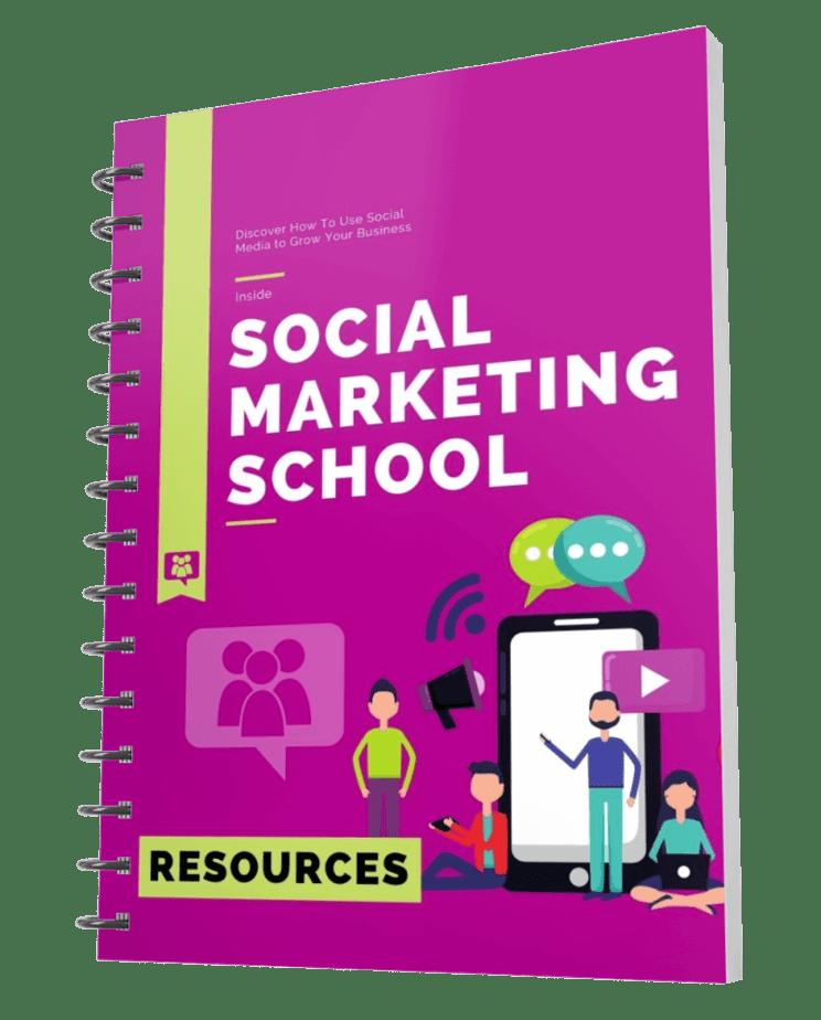 Social Marketing School Resource Cheat Sheet