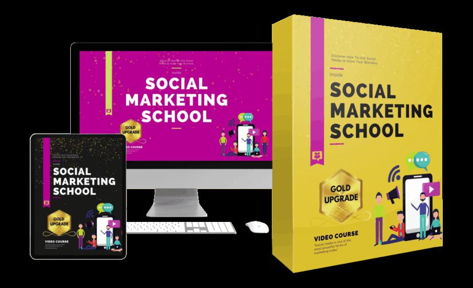 Social Marketing School Upsell