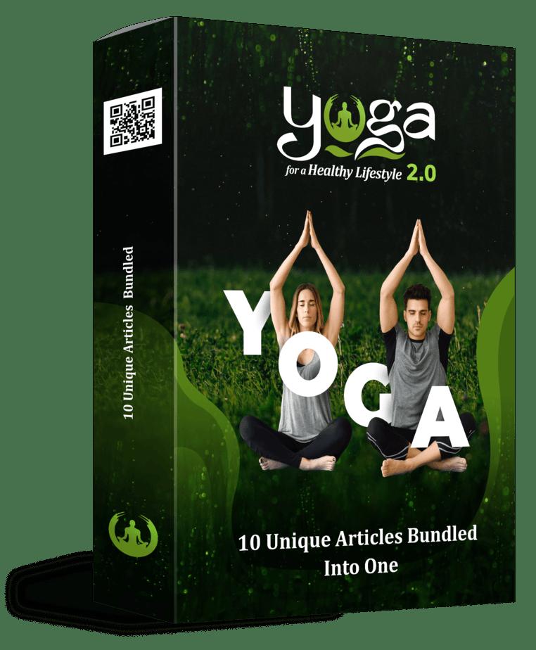 Yoga for a Healthy Lifestyle 2.0 PLR Sales Funnel Articles Bundle