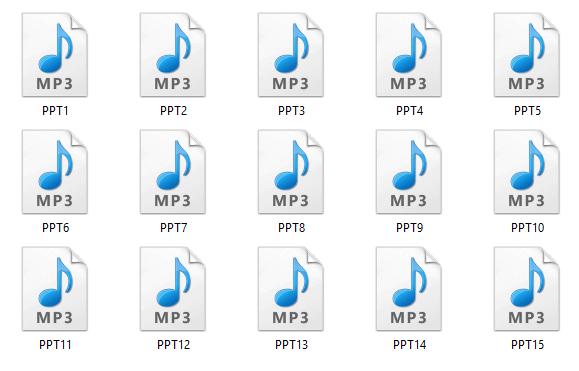 eCommerce Academy Audio Files
