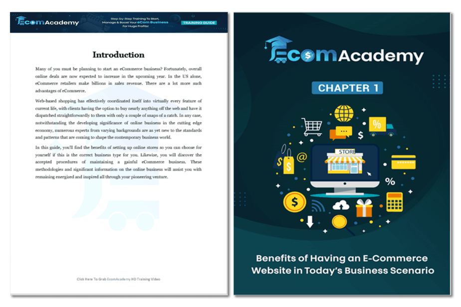 eCommerce Academy Training Guide 1