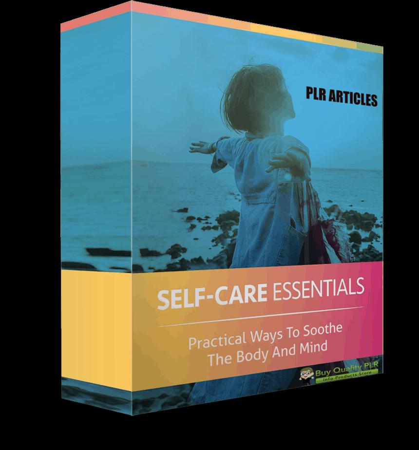 5 High Quality Self Care PLR Articles