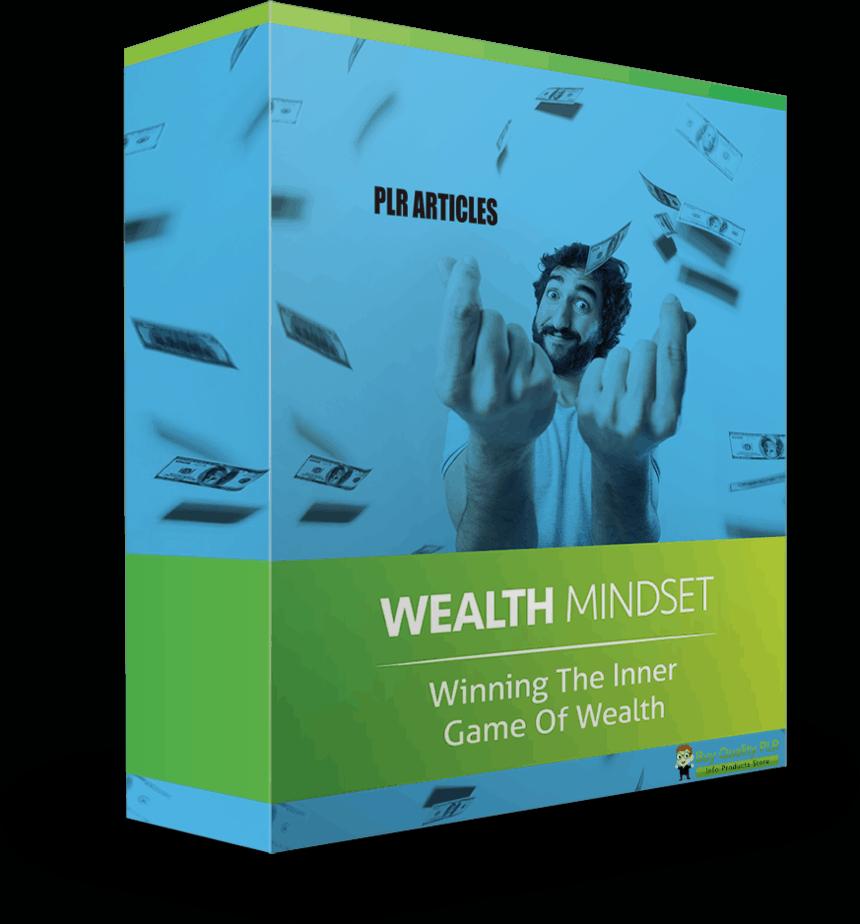 5 High Quality Wealth Mindset PLR Articles