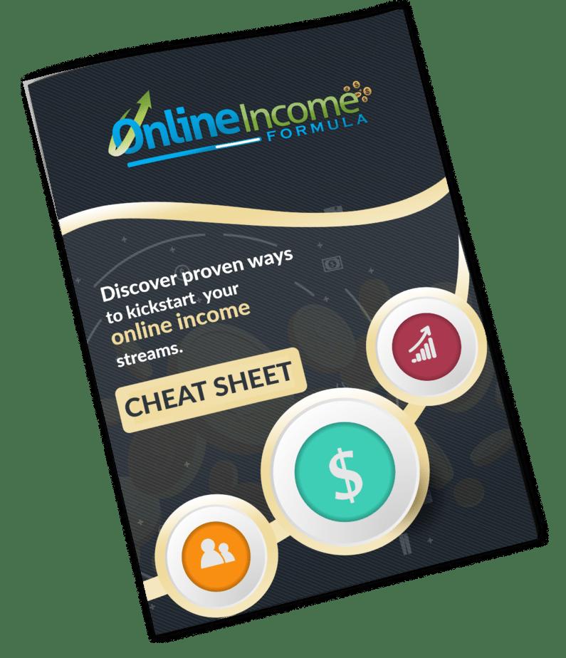 Online Income Formula PLR Sales Funnel Cheatsheet