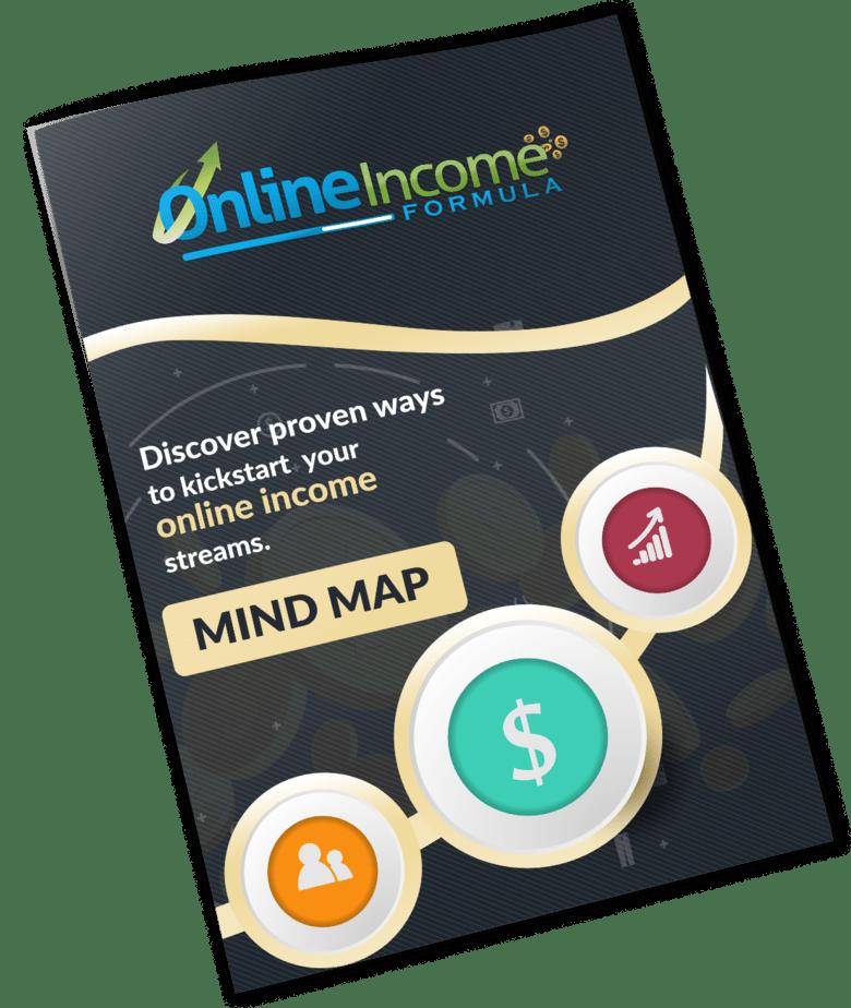 Online Income Formula PLR Sales Funnel Mind Map