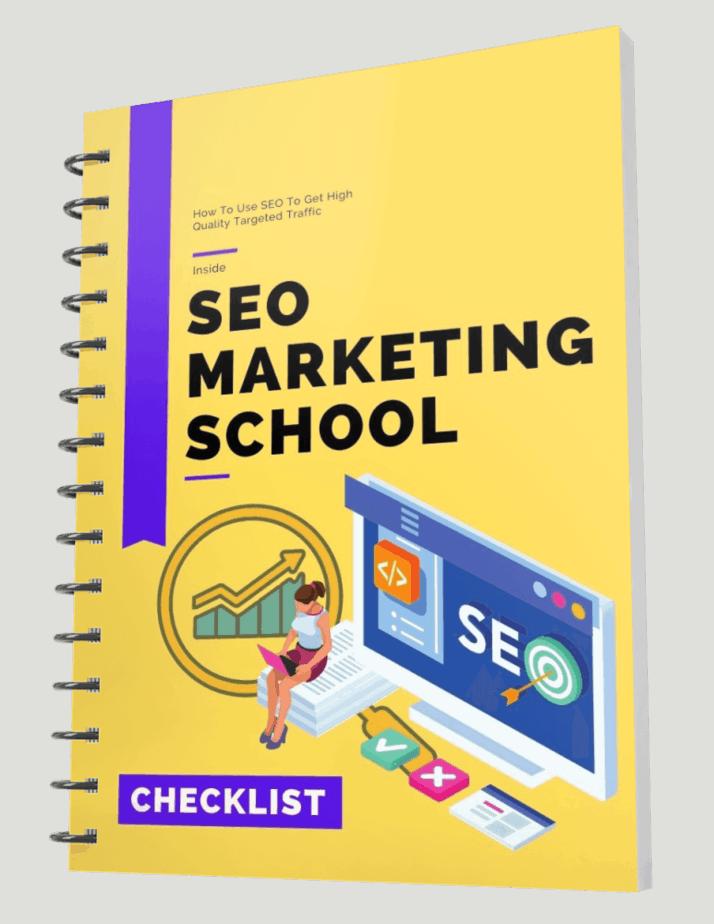 SEO Marketing School Checklist