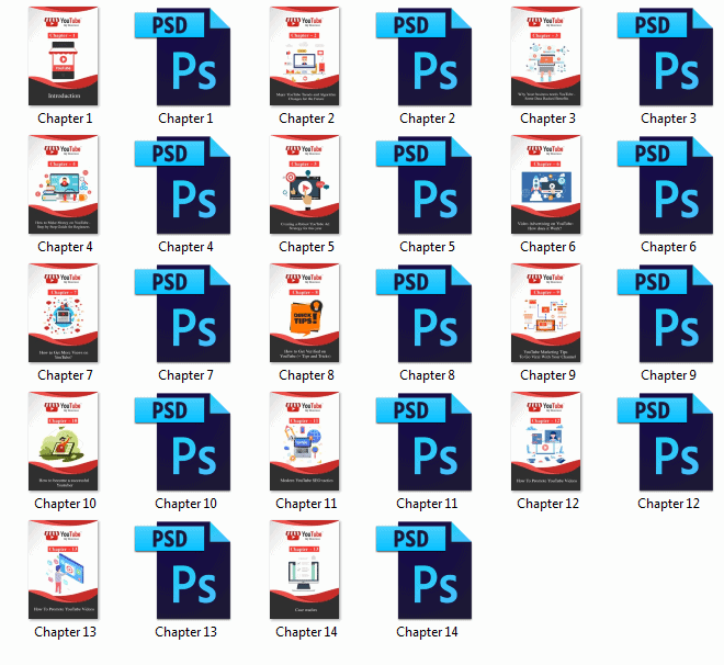 YouTube My Business PLR Sales Funnel PDF Graphics