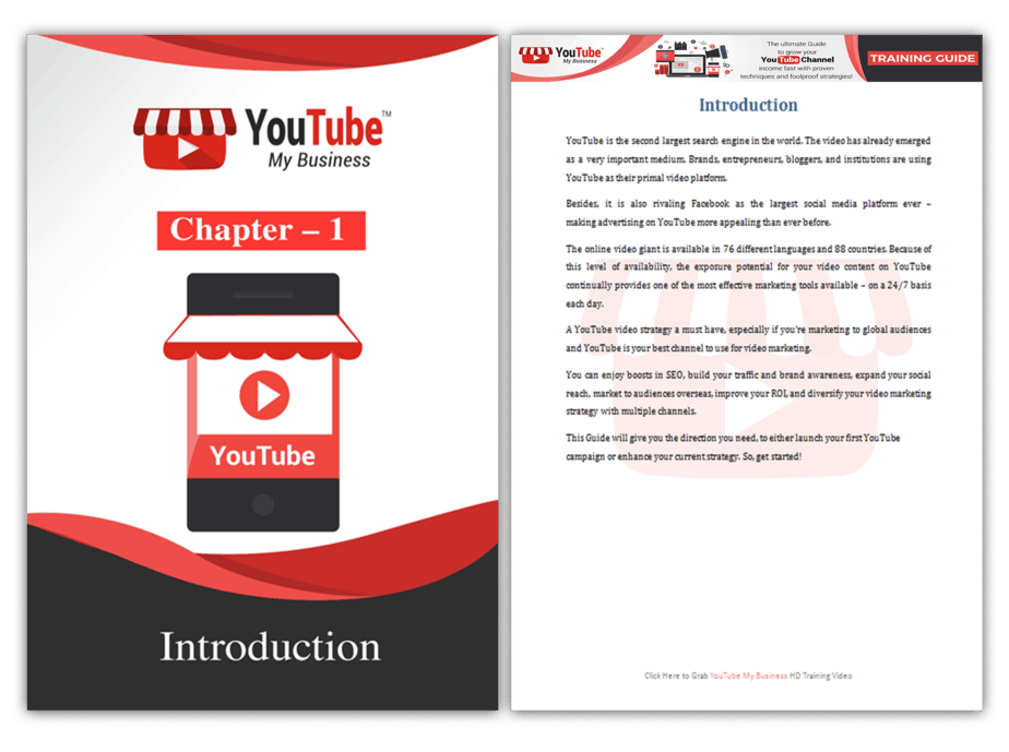 YouTube My Business PLR Sales Funnel Training Guide