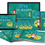Bing To Riches Sales Funnel with Master Resell Rights
