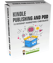 Internet Marketing Checklists Kindle Publishing and POD
