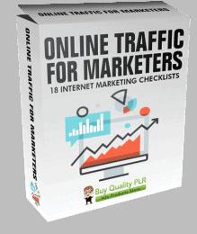 Internet Marketing Checklists Online Traffic for Marketers