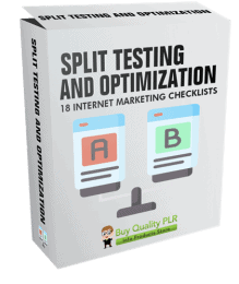 Internet Marketing Checklists Split Testing and Optimization
