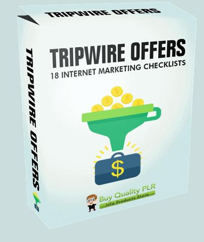 Internet Marketing Checklists Tripwire Offers