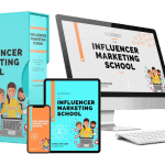 Influencer Marketing School Sales Funnel with Master Resell Rights